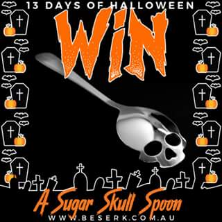 Beserk – Win a Sugar Skull Spoon for You and a Friend From Wwwbeserk