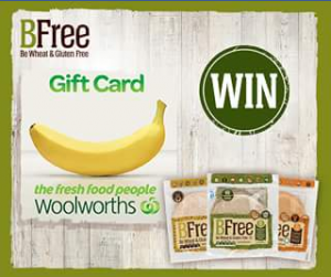 BFree – Win a $50 Woolworth's Supermarket Gift Card (prize valued at $50)