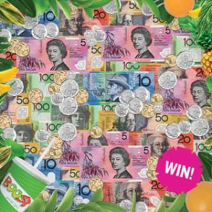 Boost Juice – Win a Sweet $100 Vibe Cash (prize valued at $500)
