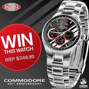 Bradford exchange – Win Holden Commodore 39th Anniversary Watch