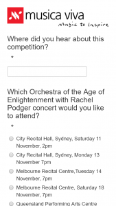 Brisbane festival – Win a Double Pass for 3pm Sun 19 Nov at The Qpac Concert Hall