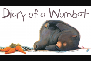 Buggybuddys – Win a Family Pass to Diary of a Wombat