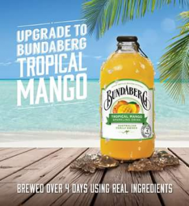 Bundaberg Ginger Beer – Win 1 of 5 Tropical Mango Cocktail Packs