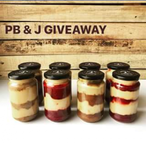 Byron Bay peanut butter – Win 1 X Pb&j (strawberry 1 X Pb&j (banana)