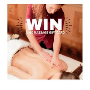 Calamvale Central – Win a Massage Gift Voucher Competition