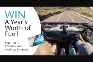Caltex – Win a Year's Worth of Fuel Thanks to Caltex (prize valued at $5,300)