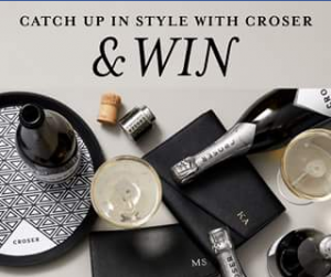 Cellarbrations – Win a Case of Croser Nv Plus a Daily Edited Monogrammed Clutch Bag