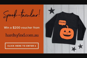 Channel 7 – Sunrise family – Win $200 Hard-To-Find Voucher (prize valued at $200)