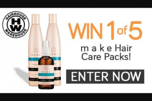 Channel 7 – Sunrise family – Win 1 of 5 Hairhouse Warehouse Prizepacks (prize valued at $389)