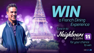 Channel Ten – Neighbours – Win a trip for 2 to Melbourne