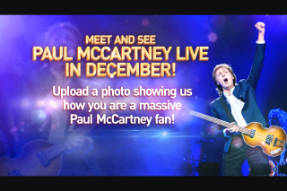 Channel 9 – Today Show – Win a Double Pass to Paul (prize valued at $16,000)