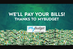Channel 9 – Today Show – Win 1/20 X $1000 to Help Pay Your Bills (prize valued at $20,000)