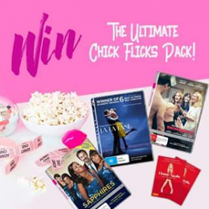 Chicks at the Flicks – Win One of Five Home Again Packs