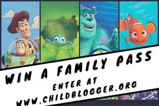 Child Blogger – Win 1 of 2 Family Passes to The Pixar Film Festival