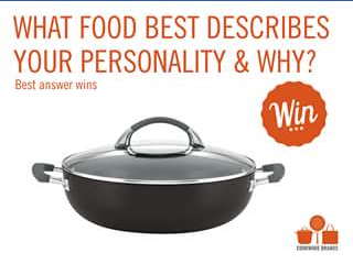 Cookware brands – Win Anolon Endurance Covered Casserole (prize valued at $239.95)