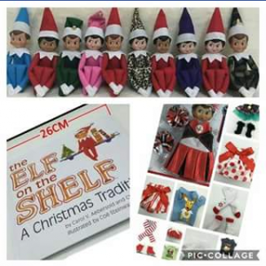 3 Cute Girls Clothing FB – Win an Elf on The Shelf