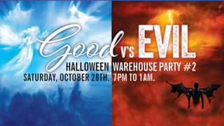 DB Publicity – Win a Double Pass to Halloween Warehouse Party Part2 Event