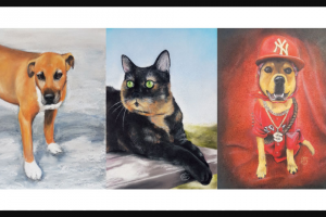 Dogs Life – Win an A3 Size Portrait of Your Pet (prize valued at $100)