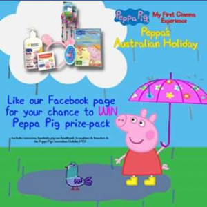 Done Dirt Cheap DVD FB – Win an Perfect Pack Piled to The Peak With Prime Peppa Pig Products
