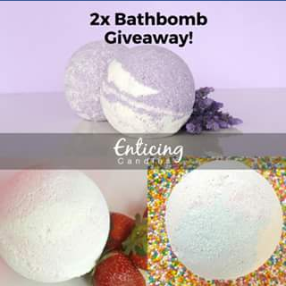 Enticing Candles – Win One of Two Ring Collection Bath Bombs