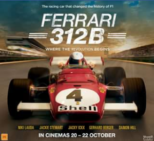 Event cinemas Chermside – Win One of Two Double Passes to See Ferrari 312b