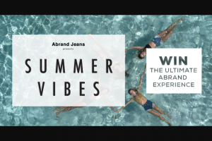 Fashion Journal – Abrand Jeans – Win The Chance to Party With The Asquad (prize valued at $5,000)