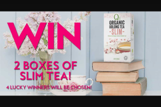 Fashion weekly – Win 2 Boxes of Slim Tea