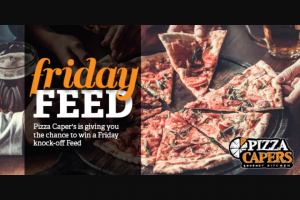 Friday feed with LAFM & Pizza Capers – Win a Friday Knock-Off Feed