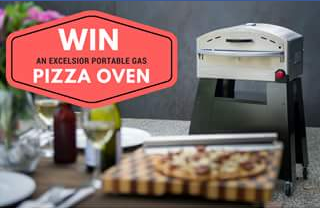 GBI Sales – Win an Excelair Portable Gas Pizza Oven