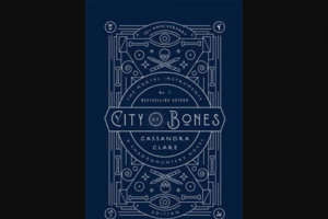 Girl – Win One of 5 X The Mortal Instruments 1 City of Bones Tenth Anniversary Edition Books (prize valued at $150)