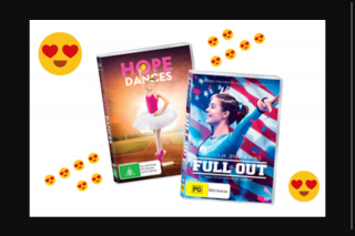 Girlfriend Magazine – Win a Prize Pack of Full Out and Hope Dances