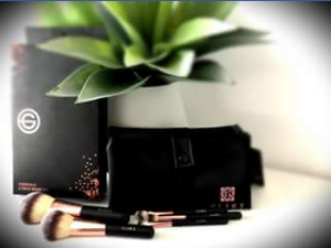 Glamx FB – Win this Brush Set and Travel Bag By Simply Liking Our Page