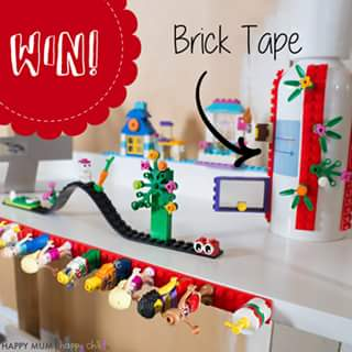 Happy Mum Happy Child – Win Some Brick Tape for Lego