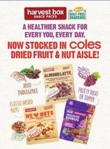 Harvest Box – Win The Entire Coles Range of Harvest Box Products