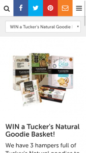 Healthy Food Guide – Win One of Three Tucker's Natural Goodie Baskets Valued at $96 Each (prize valued at $96)