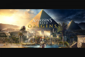 IGN – Win 1 of 10 Assassin's Creed Origins Prize Packs (prize valued at $1,640)