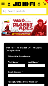 JB Hi-Fi – Win a Trip to New Zealand for 2 People for a Weta (prize valued at $4,800)