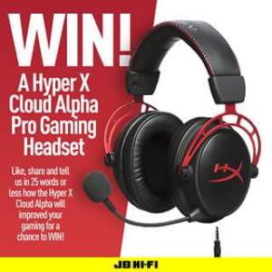 JB HiFi – Win an Hyperx Cloud Alpha Pro Gaming Headset