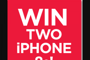 Kogan – Win one of two  IPhone 8s (prize valued at $2,198)