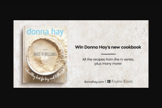 Lifestyle – Win a Copy of The New Cookbook By Australia's Favourite and Most Trusted Home Cook
