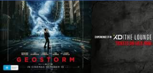 Limelight Cinemas Ipswich – Win 1 of 2 In-Season Double Passes to #geostorm