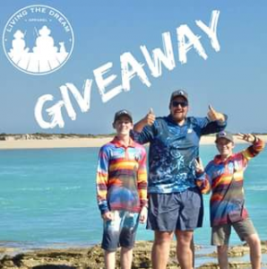 Living the Dream Apparel FB – Competition (prize valued at $145)