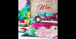 Luxotica FB – Win one exquisite Bella Rosa quilt cover set valued at $249.95