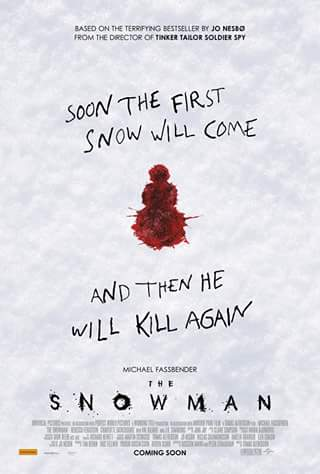 Matt's movie reviews – Win a Double Pass to See The Serial Killer Thriller The Snowman Starring Michael Fassbender