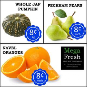 Mega Fresh Browns Plains – Win Our $50 In Store Credit Competition (prize valued at $50)