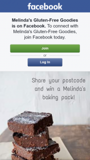 Melindas Gluten Free Goodies – Win 1 0f 3 Melindas Gluten Free Goodies Packs (prize valued at $100)
