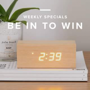 Mocka Australia – Win One of Two Nova Clocks