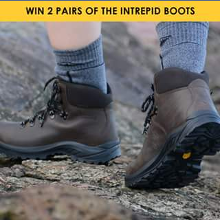 Mountain Designs – Win a Pair of Our New Mountain Designs Intrepid Boots for You and a Friend