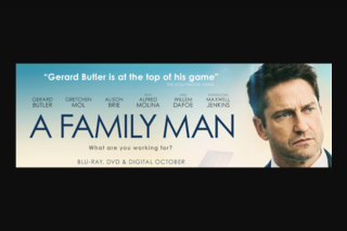 Moviehole – Win 1/5 Blu Ray Copies of a Family Man