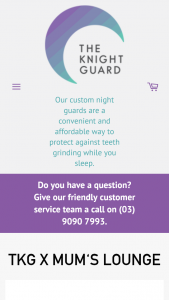 Mums Lounge – The Knight Guard – Win a Custom Fitted The Knight Guard Mouthguard Gameday Custom Mouthguard Or Custom Teeth Whitening Kit